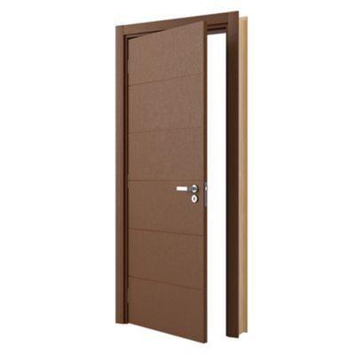 Puerta Principal Bella Izquierda 80 x 207 cm con Marco incluido y bisagras