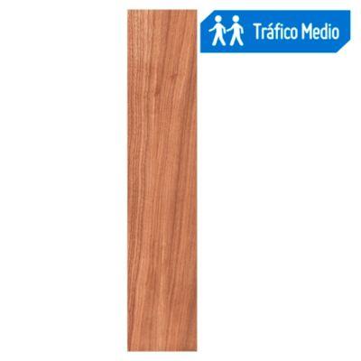 Porcelanato Wood Marrón 23x120cm 1.12m2