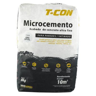 Microcemento para Pared Natural 5kg