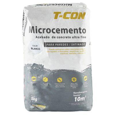 Microcemento Pared Blanco 6kg