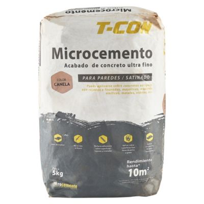 Microcemento Pared Canela 5kg
