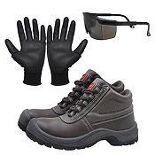 2d58bd5fd2 Kit de Seguridad: Zapatos de Seguridad + Lentes de seguridad + Guantes