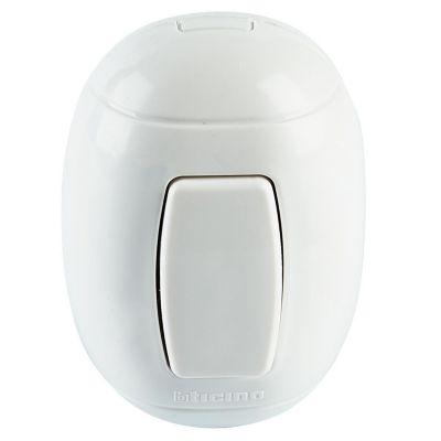 Interruptor Ovalado de 3 Vías Blanco