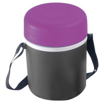 Lonchera de Plástico 1.5L Lila con Plomo
