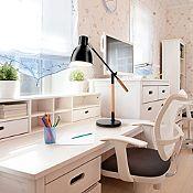 Lámpara de escritorio Trivali 1 luz E27