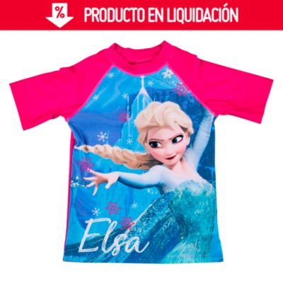Polo de Lycra UV50 Frozen Fucsia