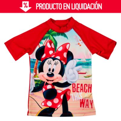Polo de Lycra UV50 Minnie Rojo