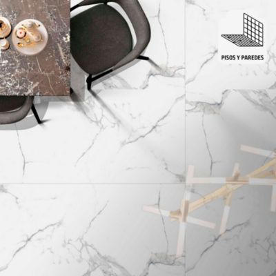 Porcelanato Torino Blanco 60x120cm 1.44m2