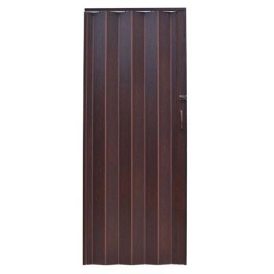 Puerta Plegable Milano 81x200cm Onyx