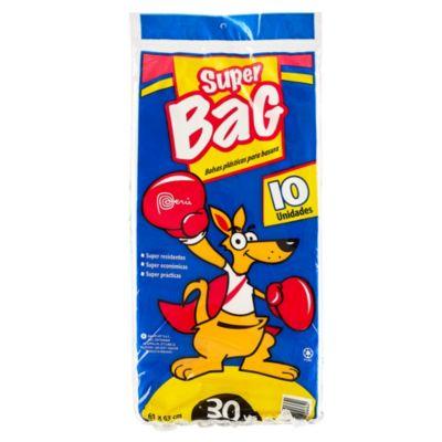 Bolsa para basura de baños y cocina 30 L pack x 10