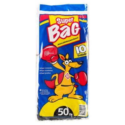Bolsa para basura 50 L pack x 10