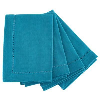 Pack Servilletas 40x40cm Azul x 4 Unidades