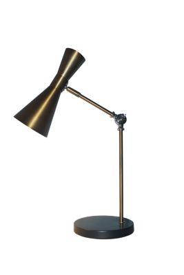Lámpara de escritorio Trier E27 dorado