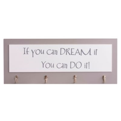 Perchero de Pared If You Can Dream It 50x20 cm