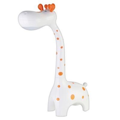 Lámpara de escritorio Led jirafa blanca