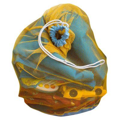 Bolsa de Malla para Juguetes Amarillo