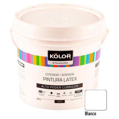 Pintura Látex Standard Blanco 4L
