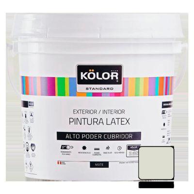 Pintura Látex Standard 4L Blanco Humo