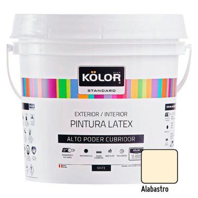 Pintura Látex Standard 4L Alabastro