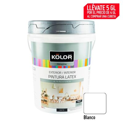 Pintura Látex Premium 20L Blanco
