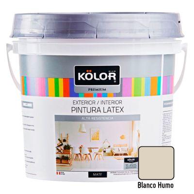 Pintura Látex Premium 4L Blanco Humo