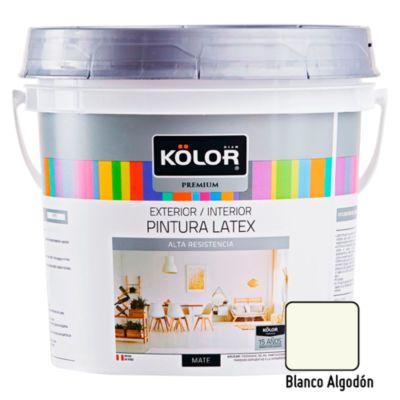 Pintura Látex Premium 4L Blanco Algodón
