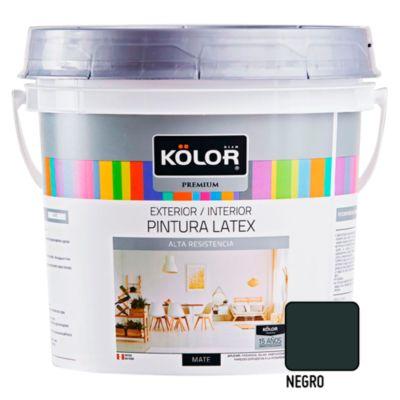 Pintura Látex Premium 4L Negro