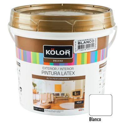 Pintura Látex Deluxe 4L Blanco