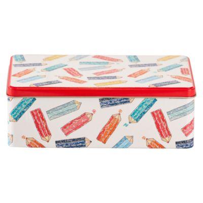 Caja Rectangular Lápices Pequeña 20x13x7cm
