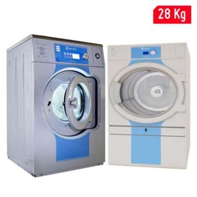 Lavadora W5250S 28kg y Secadora T5550 30.5kg