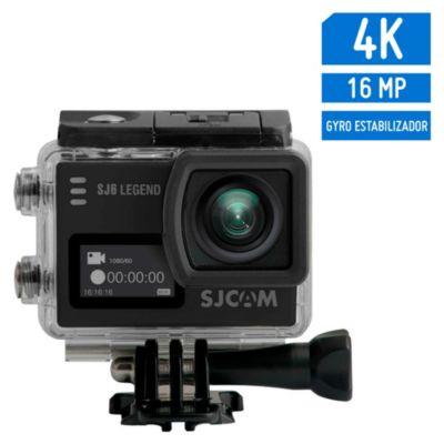 Cámara de Acción SJ6 Legend 4K Gyro Sensor Negro + accesorios