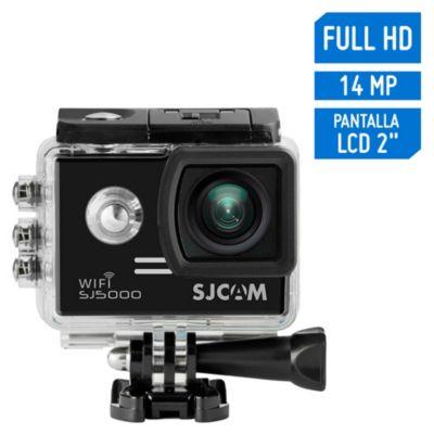 Cámara de Acción SJ5000 Wifi Full HD 1080/30FPS Negro + accesorios