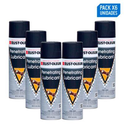 Pack x 6 - Lubricante en aerosol Penetrante 454g/16oz