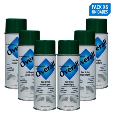 Pack x 6 - Aerosol Multiuso Verde Brillante 283g/10oz