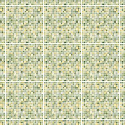 Cerámico Inserto Mozaik Marble Verde 36x36cm 1.81m2
