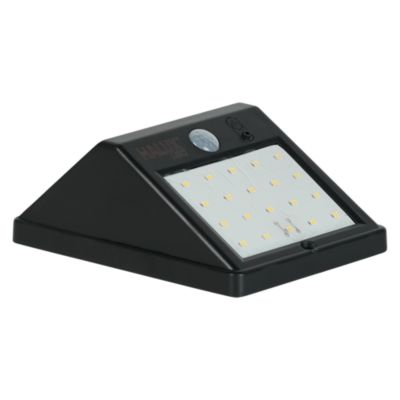 Reflector Solar con Sensor 3.6W Negro