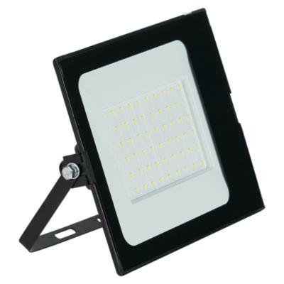 Reflector con Sensor Luz Fría 50W Negro