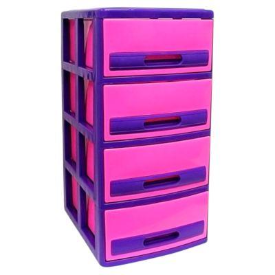Cómoda Cabinet X4 Barbie Fucsia