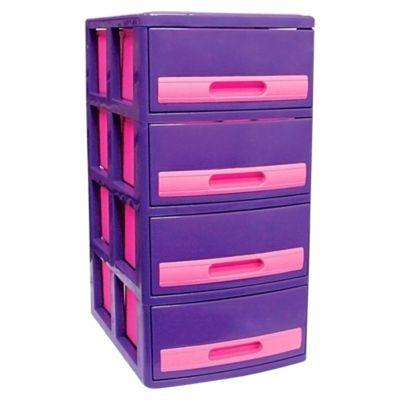 Cómoda Cabinet X4 Barbie Lila