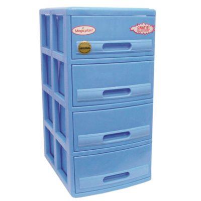 Cómoda Cabinet X4 Celeste
