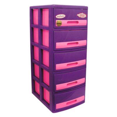 Cómoda Cabinet X5 Barbie Lila