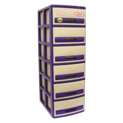 Cómoda Cabinet X6 Acero Crema