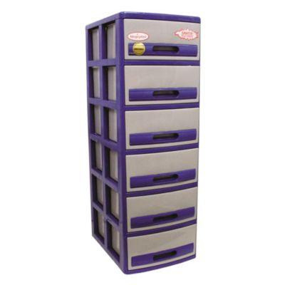 Cómoda Cabinet X6 Acero Gris