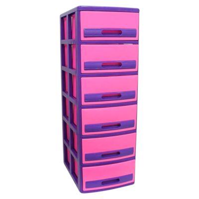 Cómoda Cabinet X6 Barbie Fucsia