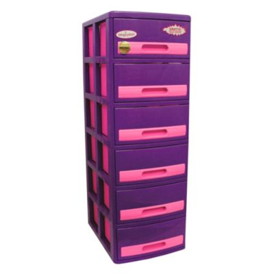 Cómoda Cabinet X6 Barbie Lila