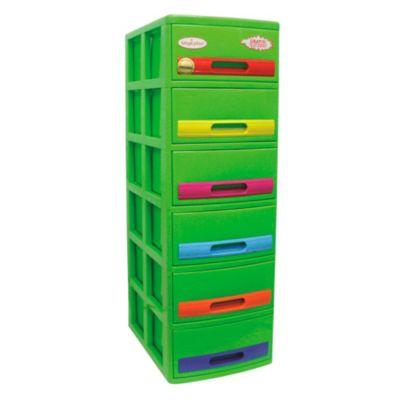 Cómoda Cabinet X6 Verde Tropical