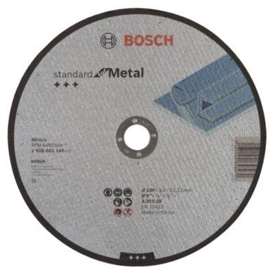 Disco Abrasivo Corte Metal 23x23x0,23