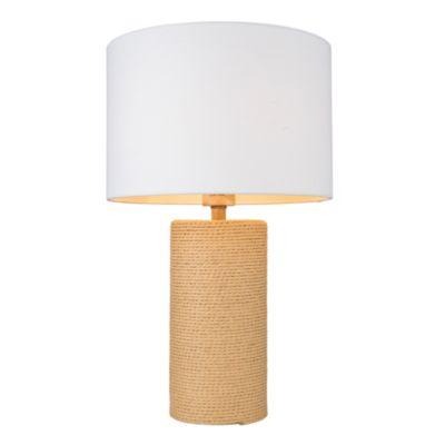 Lámpara de mesa Lyra 1 luz E27 natural