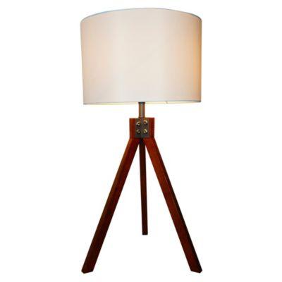 Lámpara de Mesa Lisse 1L E27 Blanco Natural