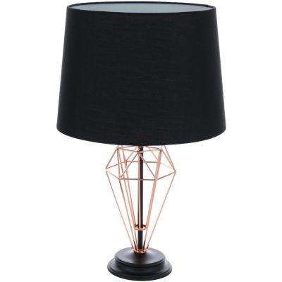 Lámpara de Mesa Meppel 1L E27 Cobre